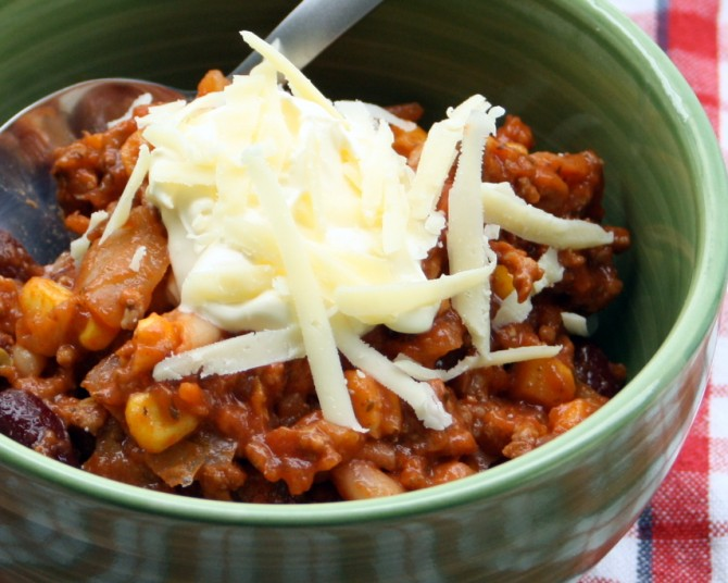 If you're chilly, eat some chilli