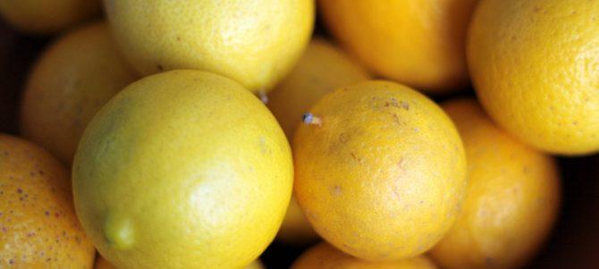 When life gives you lemons…