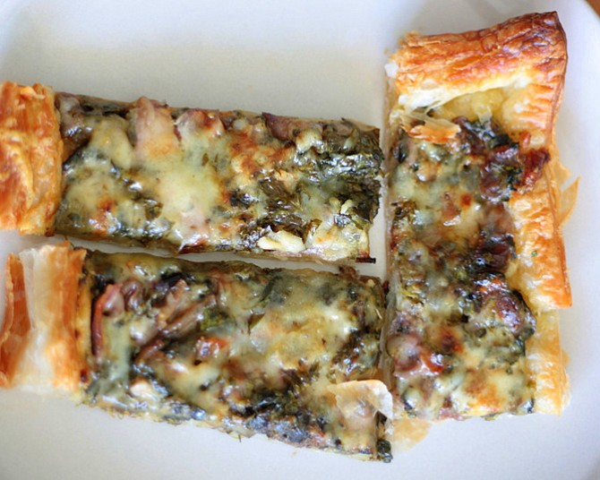 Spinach Cheese Tart