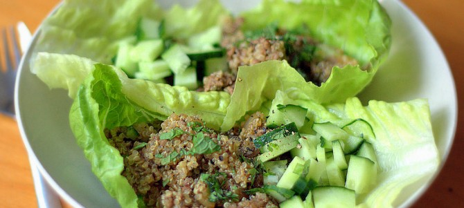 Healthy Beef Lettuce Cups – Quick Dinners
