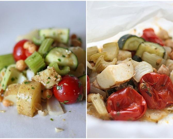 Steamed Moroccan Vegetables