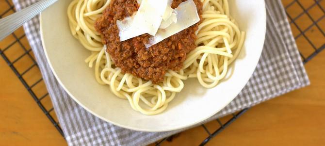 Luke's Spaghetti Bolognese