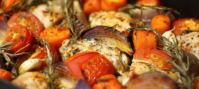 Beautiful Roast Rosemary Chicken