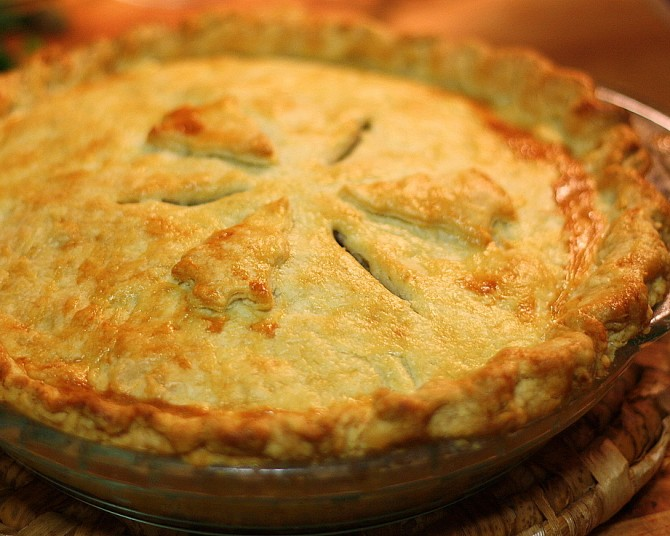 Traditional Tourtière & All Butter Pastry