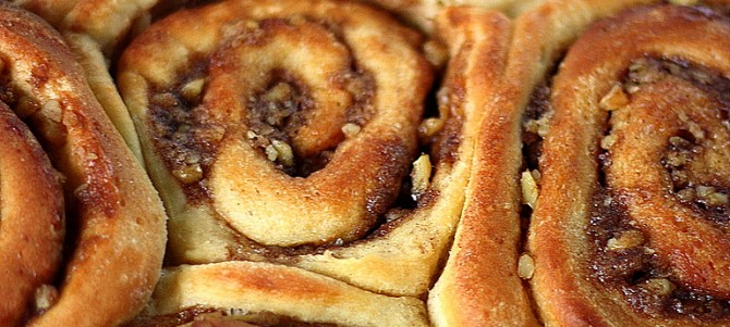 Devilishly Good Cinnamon Buns