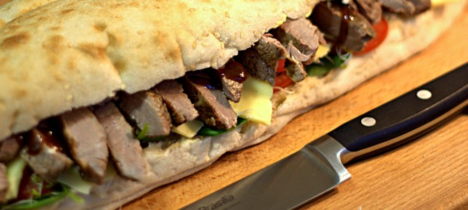 Quick Dinner: Steak Sandwich