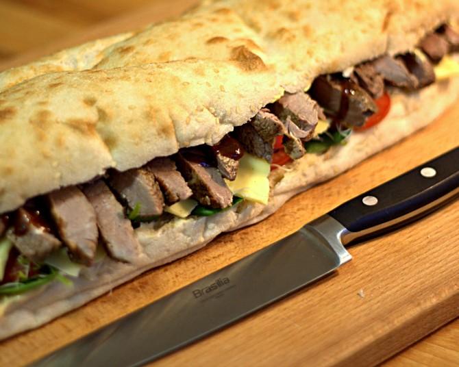 Quick Dinner: Steak Sandwich