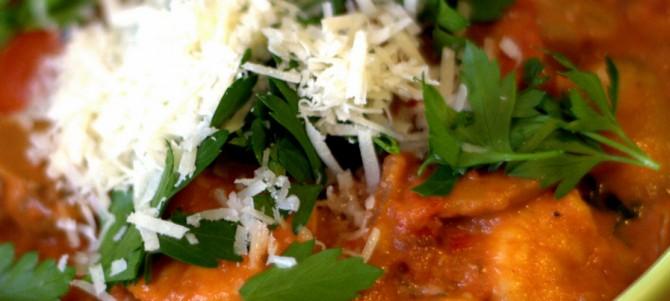 Creamy Tomato Prawn Pasta